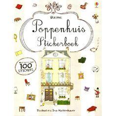 poppenhuis stickerboek usborne | ilovespeelgoed.nl