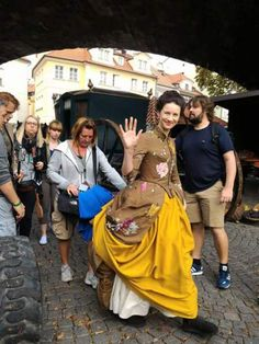 Outlander shooting in Prague