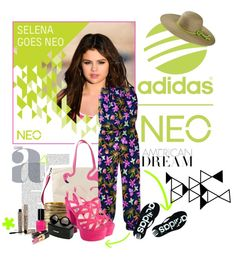 """Selena Gomez- Adidas Neo!"" by missscr ❤ liked on Polyvore"