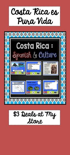 Video song spanish speaking countries and their capitals south costa rica spanish and culture country study todo de costa rica m4hsunfo