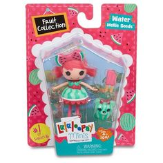 Mini Lalaloopsy Doll- Water Mellie Seeds