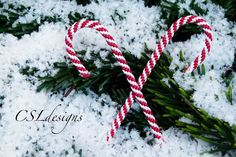 M In this tutorial I show you how to make a kumihimo candy cane that is perfect for Christmas decorations. It could also be really cute to make them with small...