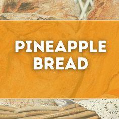 Amish Bread Recipes, Pie Recipes, Pineapple Bread, Kinds Of Pie, Almond Bread, Cinnamon Bread, Chocolate, Chocolates, Brown