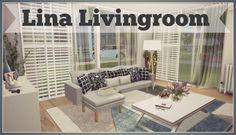Dinha Gamer: Lina Livingroom • Sims 4 Downloads