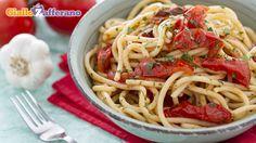gli #STRANGOZZI ALLA SPOLETINA sono un #primopiatto di #pasta preparata in casa, in modo semplicissimo. Qui la #ricetta: http://ricette.giallozafferano.it/Strangozzi-alla-spoletina.html #GialloZafferano #pomodoro