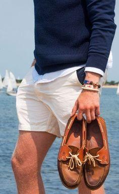 54 Best Boat Shoes Fashion Style Ideas for Men - Bellestilo Mode Outfits, Short Outfits, Black Outfits, Simple Outfits, Stylish Outfits, Segel Outfit, Best Boat Shoes, Men's Boat Shoes, Boat Shoes Outfit