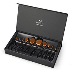 USpicy US-MB008 Makeup Brushes Professional 10 Piece Oval... https://www.amazon.com/dp/B01HM9MJ5K/ref=cm_sw_r_pi_dp_x_QLjkybQQ1T9HS