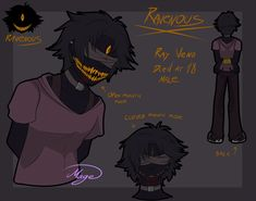 Hey heyy, a while ago I had this urge to try and make an edgy teen creepy pasta OC because there are so many of them, why not throw one more body into the pile? Don't take this OC too ser. Demon Drawings, Oc Drawings, Creepy Monster, Scary Monsters, Anime Teen, Scary Characters, Creepy People, Yandere Girl, Edgy Teen