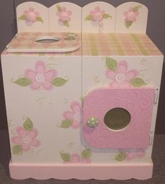 Childs play Washer and Dryer by spoiltrottn on Etsy, $139.95