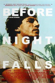 Antes que anochezca - Before Night Falls (2000)   La opinión de Oseomorfo   Por la libertad... Javier Bardem consigue su primera nominación al Oscar por su interpretación de Reinaldo Arenas,...
