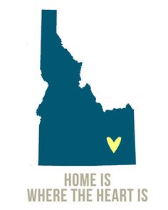 Idaho Home is Art.... Move that heart and that's perfect!!