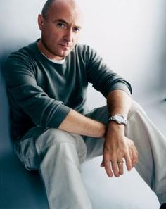 Phil Collins. He has great music and an amazing voice.