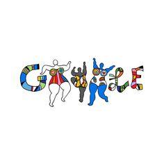 An ihrem 84. Geburtstag am Mittwoch widmet Google der Nana-Erschafferin Niki des Saint Phalle posthum ein Google Doodle.