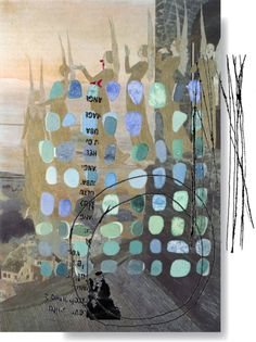 "⌼ Artistic Assemblages ⌼  Mixed Media & Collage Art - I""03.11.13"" by shereeburlington on Polyvore"