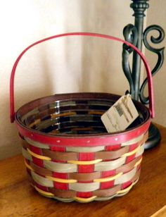 2011 Crimson Hill Oval Basket & Protector.  This rare combo was a Limited Edition offered for one day only in September 2011.