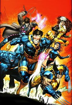 X-Men Annual #1 by Jim Lee