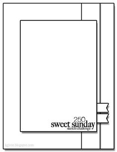 Sweet Sunday Sketch Challenge 250-Orange You Glad