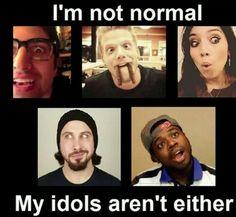 Not idols, just role models, but still though! ❤❤❤❤ SCOTT THO