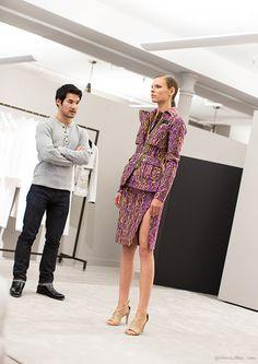 Altuzarra Pre-Fall 2015, fashion show, model, presentation / Garance Doré