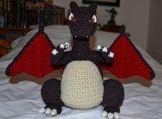 Charizard free crochet pattern by Ana Amélia Mendes Galvão