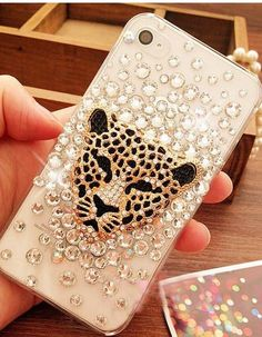 iphone 6 case, iphone 6 plus case,Leopard iphone 5s case bling iphone 5 case crystal iphone 4 case iphone 4s case Leopard samsung galaxy s4 case samsung note2 /note3 case