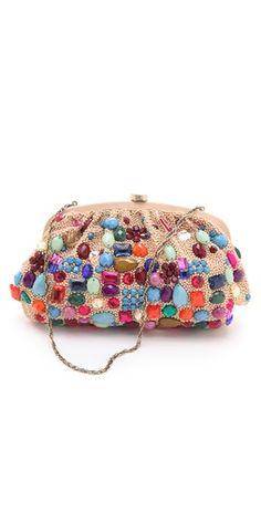 Santi Jeweled Clutch. Colorful  amp  cute! Diy Clutch 73dc15e2075d5