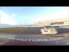 Footage from the on-board camera from the RK Motors branded Ferrari 458 GT during the Rolex 24 Hours of Daytona Race. Footage from the roof camera was captured around 7:45 local time when Michael Waltrip was driving the car.