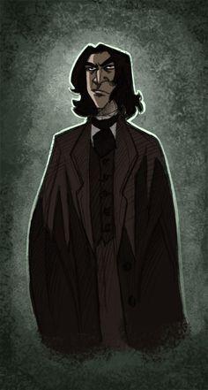 Snape -HP- by kyla79.deviantart.com on @DeviantArt