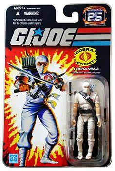 GI JOE 25th Anniversary Cobra MOMC 25th VERSION FOIL W// Star Case