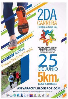 Asociación de Sordos del Estado Yaracuy: Bienvenidos 2 da Carrera Caminata Familiar Sordos ...
