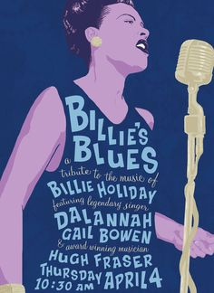 Billy Holiday poster