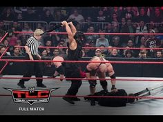 FULL MATCH - Team Hell No & Ryback vs. The Shield: WWE TLC 2012 on WWE Network - YouTube