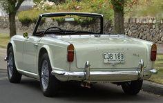 1965 Triumph TR4 Rare 'Cactus Green'