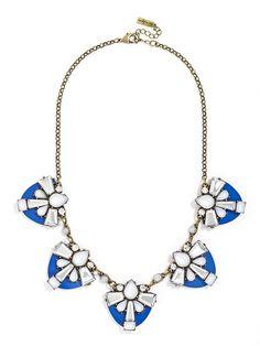 Gem Shield Collar  Fashion Necklaces: Statement, Chains & More | BaubleBar http://www.baublebar.com/necklaces.html