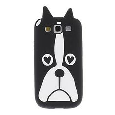 Cute Dog Pattern Soft Silicone Case for Samsung Galaxy S3 i9300