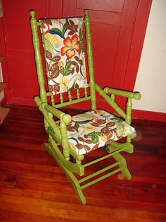 Restored Antique Platform Rocker  Rocking by 19thStreetCreations, $180.00