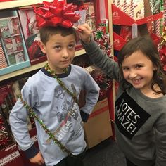 Letting kids get silly in CVS: How to survive shopping trips as parents.