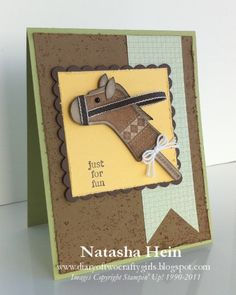 Diary of Two Crafty Girls: Stitched Stocking Just for Fun Card