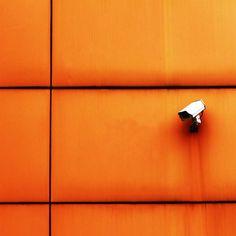 Orange Wall by Rangga Setiadi