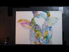 Purple Cows Moo Too by Elisha Dasenbrock  http://www.etsy.com/shop/limitedpalette