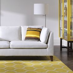 Bring the sunshine indoors with bold yellow accents. #IKEA #interior #style