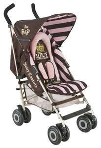 The Maclaren Juicy Couture Stroller @Laura Jayson Short Houston we have a problem!!!! Lol