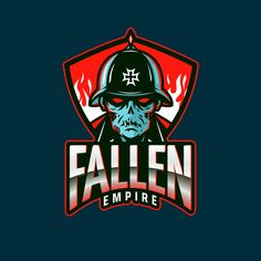 May 2020 - Gaming Logo Creator with a Zombie Soldier Inspired by COD Team Logo Design, Logo Design Trends, Icon Design, Zombie Logo, Gaming Logo, Games Zombie, Fallen Empire, Esports Logo, Online Logo