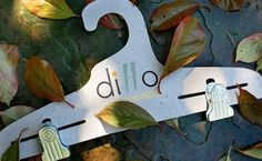 Ditto Hangers are made from 100% recycled materials and they hold over 20 lbs!