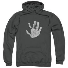 Lor - White Hand Adult Pull Over Hoodie