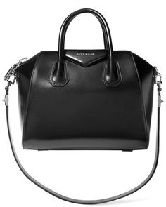 f9d40a1a17c7 Givenchy - Small Antigona Bag In Black Leather - one size Givenchy  Antigona
