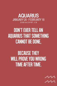 Aquarius loath those who doubt them. Because they know that nothing is beyond them #aquarius #independance#truth