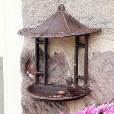 Wall Mounted Bird Feeder