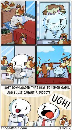 Pidgey Problem