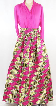 Free Shipping Women's Ankara Skirt African by ChristaluxPerfection